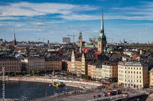 Photo  STOCKHOLM, SWEDEN - SEPTEMBER, 16, 2016: Cityscape image during daytime with sun light