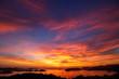 canvas print picture - 長崎の夕陽
