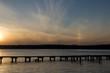 Jezioro wieczorem