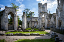 Abbey Of Jumieges, Ruins Of Ab...