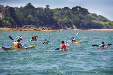 Kayak School On The Sea