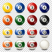 Billiard,pool Balls Collection...