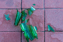 Dangerous Shards Of Glass. Bro...
