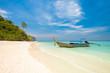 Koh Bamboo island bay, longtail, Thailand