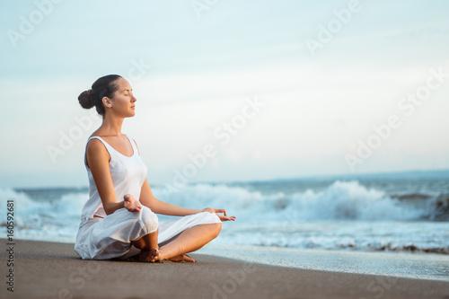 Fotobehang Lichtblauw Relaxation