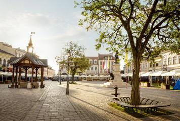 Rynek starego miasta w Rzeszowie