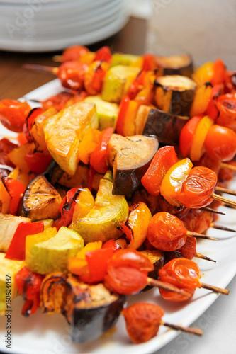 Fotografie, Obraz  Grilled vegetables