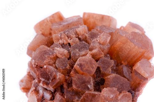 Photo Macro mineral stone Aragonite on white background