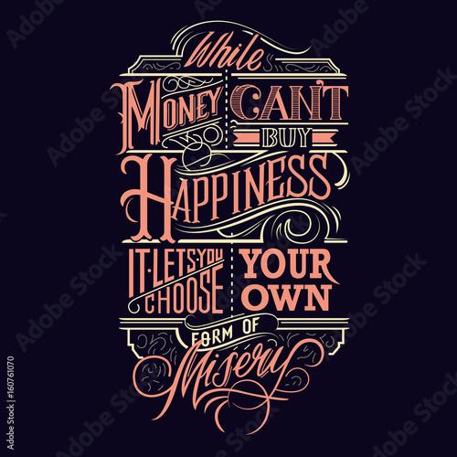 happiness-typography-design