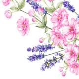 Bukiet kwiatów kwiatowych. - 160761249