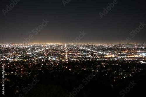 Plakat Los Angeles nocą