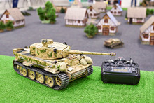 Model Of German Tank Tiger On ...