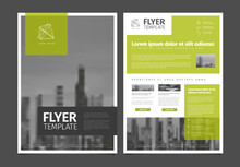 Modern Brochure Template Flyer...