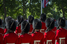 Soldiers In Classic Red Coats ...