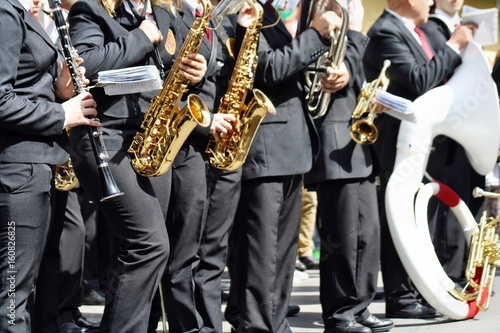 Fotografie, Obraz Banda musicale