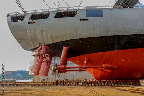 Navy ship repair Poster