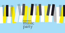 Concept Modern Music Poster Ve...