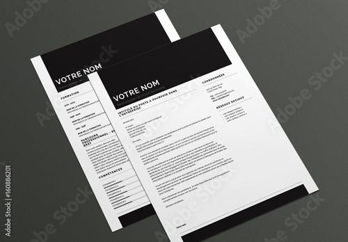 Modele De Cv Et Lettre De Motivation Original Buy This Stock Template And Explore Similar Templates At Adobe Stock Adobe Stock