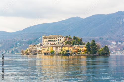 Fotografie, Obraz  Isola di Orta San Giulio, Piemonte