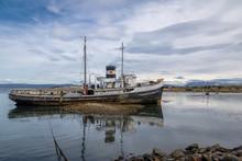 Abandoned HMS Justice Tug Boat...