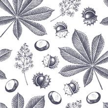 Decorative Chestnut Pattern