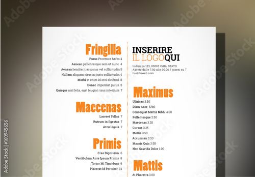 tapas menu template - layout menu ristorante tapas buy this stock template and