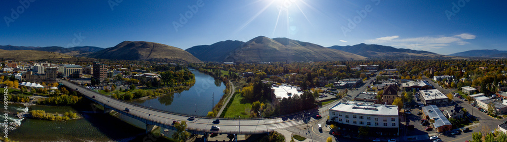 Fototapety, obrazy: Missoula Fall Panoramic