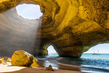 Benagil Cave. Algarve Coast. Portugal