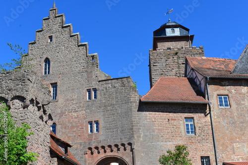 Fotografie, Obraz  Burg Breuberg in Südhessen