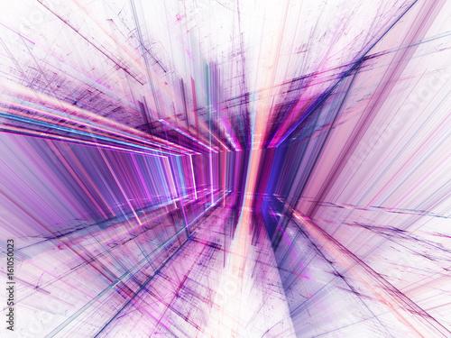 Fototapety fioletowe   fioletowa-abstrakcja-3d