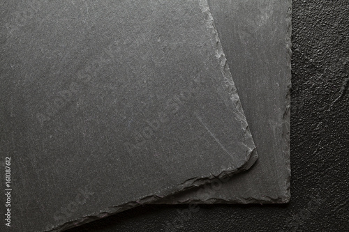 black stone plate board background or texture buy this stock photo