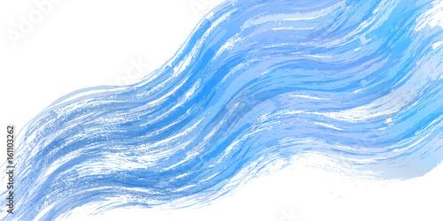 Obraz 川 水 和紙 背景 - fototapety do salonu