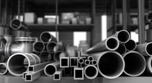 Metal Objects In Warehouse