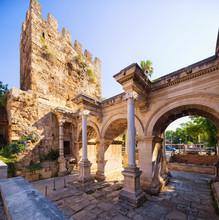 The Hadrian's Gate  In Antalya, Turkey