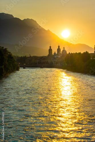 Aluminium Prints Bali Innsbruck zu Sonnenaufgang