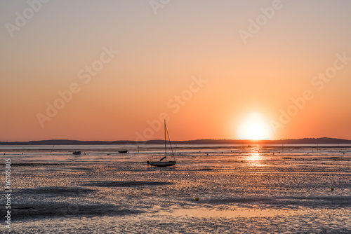 Zdjęcie XXL ARCACHON BASIN (Francja), Andernos, zachód słońca