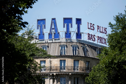 Outside View Of Tatiu0027s Historic Store, The Iconic Cut Price Shop At Barbes  Station