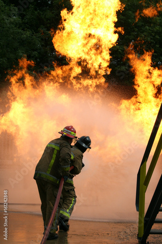 Fotografering House fire