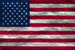 vector image of american flag background