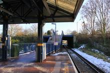 Train Platform In Wimbledon