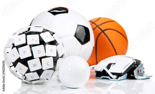 eSport - golf, soccer, basketball, Wallpaper Mural
