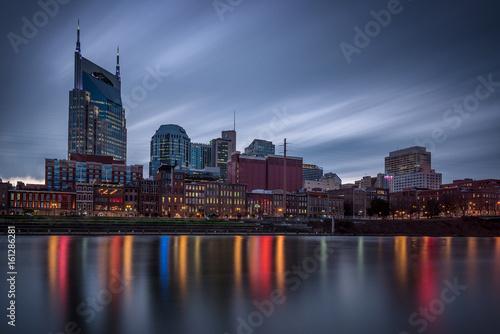Fototapety, obrazy: nashville tennessee skyline