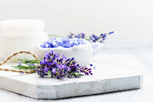 Ingredients For Lavender Spa, ...