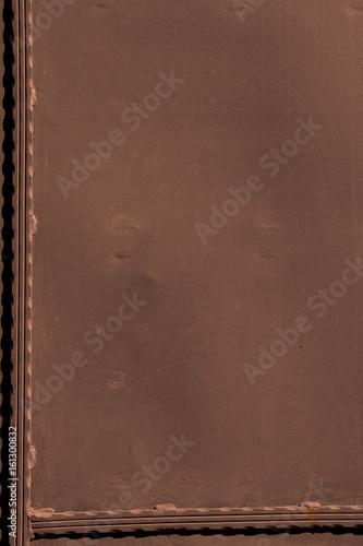 Deurstickers Leder Metal surface as background texture pattern