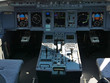 avion de ligne poste de pilotage