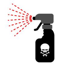 Sprayer With Poison. Dangerous...