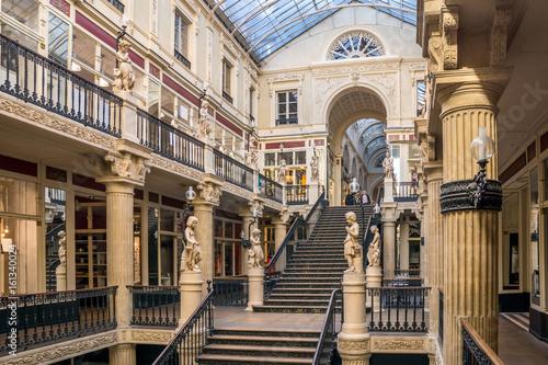 Papiers peints Con. ancienne Passage Pommeraye, Nantes