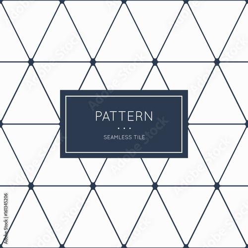 plakat Geometric seamless pattern