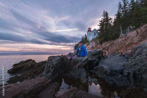 Fotografie, Obraz  Acadia National Park, Bass Harbor Head Light