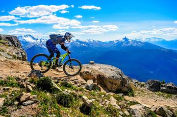 Planinski biciklistički park Whistler, BC, Kanada - Vrh woldove staze, srpanj 2016